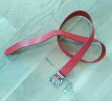 Ceinture cuir rouge HIIFIGER 105 Cm f7483ee62c2