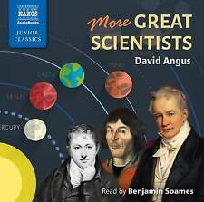 Angus:More Great Scientists [Naxos Audiobooks: NA0260] by David Angus | Audio CD