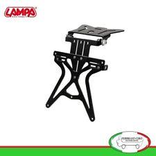 90146 Porta Targa Universale Regolabile Altezza Larghezza Inclinazione Per Moto