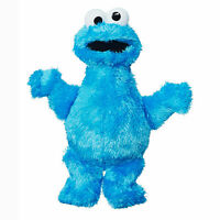 Playskool Friends Sesame Street Cookie Monster Mini Plush, Ages 12 Months and Up