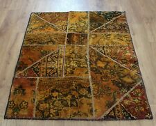 Traditional Vintage Wool Handmade Classic Oriental Area Rug Carpet 137X99cm
