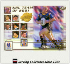 Select Darren Lockyer NRL & Rugby League Trading Cards