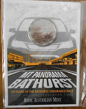 """2013 Mt PANORAMA """" BATHURST """" 50 YEARS SPECIAL 50 Cent """" ON CARD off Issue """""""