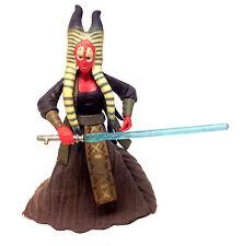 "Star Wars Revenge of the Sith SHAAK TI female Jedi master 3.75"" toy figure RARE"