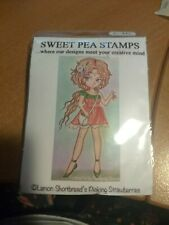 SWEET PEA STAMP LEMON SHORTBREAD'S PICKING STRAWBERRIES  NEW 11X6 CM (R)
