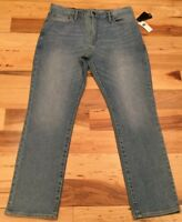 Gap Men's 38 X 30 Light-Wash ( Slim Stretch ) Jeans. Light-Wash Denim Pants. Nwt