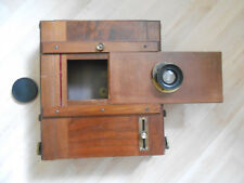 Plattenkamera Reise Kamera18x24 Mahagoni Sehr Gut Erhalten