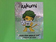 FIGURINE PANINI WORLD CUP SOUTH AFRICA 2010 - N. 29 SCUDETTO MASCOTTE