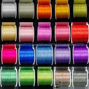 Strong Stretchy Elastic Crystal String Cord Thread For Diy Bracelet Necklace 10m