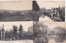 Lot de 4 cartes postales anciennes DOULLENS