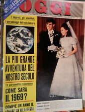 OGGI 8 gennaio 1969  David Eisenhower Julie Nixon Apollo 8 Armando Picchi Berti