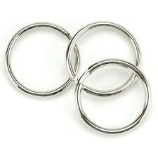 """Wholesale 1000 500 100 50 New 1000 Key Rings 32mm 1-1/4"""" Diameter Split Ring !"""