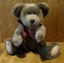 """Boyds Plush #57001-05 OXFORD T BEARRISTER 11""""  NEW/Tag From Retail Store Jointed"""