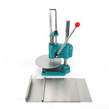"""9.5"""" Household Manual Pastry Press Stainless Steel Machine Pizza Dough Maker Hot"""