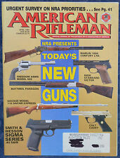 Vintage Magazine American Rifleman, APRIL 1994 !! CZECH Persian Mauser RIFLE !!