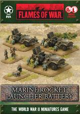 Flames of War Marine Rocket Launcher Battery By Battlefront FOW UBX47