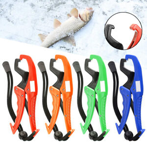 Portable ABS Fishing Lip Gripper Plier Floating Grabber Fish Tackle Hand Tool
