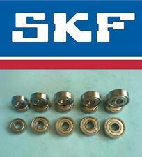 10 SKF Miniaturlager Rillenkugellager Kugellager 608 2Z/C3 =  ZZ C3  8x22x7 mm