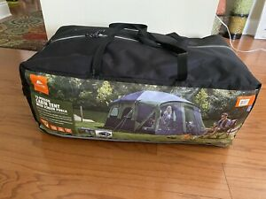 Ozark Trail 12 Person Cabin Tent With Screen Porch Camping Shelter
