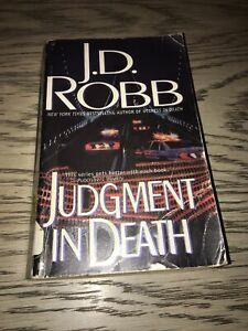 Paperback edition of Judgment in Death by Nora Roberts