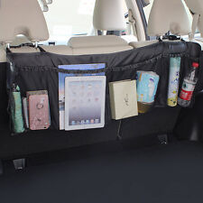 Car Auto Back Rear Trunk Seat Elastic String Net Mesh Storage Bag Bag Cage XC