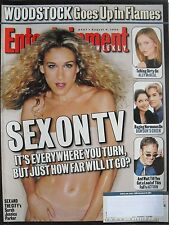SARAH JESSICA PARKER  SEX AND THE CITY Aug. 1999 ENTERTAINMENT WEEKLY Magazine