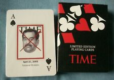 TIME - SEALED LIMITED EDITION PLAYING CARDS NEW AND SEALED