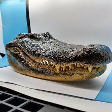 Alligator Head Taxidermy Crocodile 14+ Inches