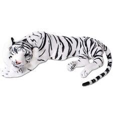 TE-Trend XXL Plüsch Plüschtier Tiger weiß Kuscheltier Plüschtiger Deko 90cm