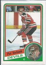 Pat Verbeek  84/85 O-Pee-Chee OPC  #121  RC