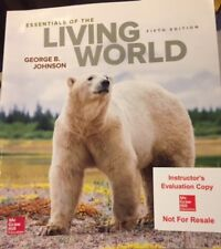 Essentials of the Living World by George B. Johnson 5th sticker on front