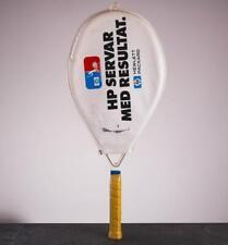 RARE Bjorn Borg Signed Tennis Racket At Stockholm Open 1987 Björn