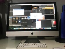 """iMac 27"""" 2.93GHz QuadCore i7 20GB Ram 2TB HDD 240GB SSD Drive 1GB GPU"""