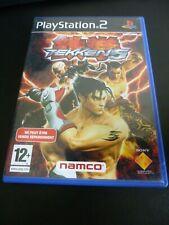 (JV0001) Tekken 5 PS2 Complet