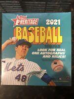 2021 Topps Heritage Baseball Mega Box