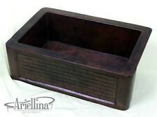 "36"" Ariellina Farmhouse 14 Gauge Copper Kitchen Sink Lifetime Warranty AC1911"