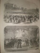 Volunteers Champ de Mars Montreal Canada & am dram SS Great Eastern 1866 prints