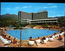 "MARBELLA (ESPAGNE) PISCINE de l'HOTEL ""DON MIGUEL"" Club Mediterranée animé 1980"