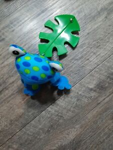 Fisher Price Rainforest Leaf Mobile Blue Frog Replacement Part