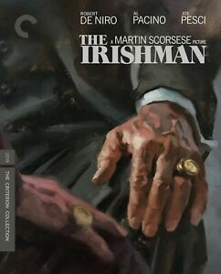 The Irishman Criterion Collection DVD - 2 Disc Set Brand New