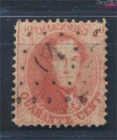 Belgien 13A gestempelt 1863 Leopold I. (8669790