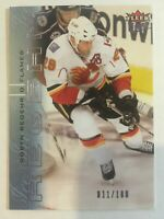2009-10 Fleer Ultra Ice Medallion - ROBYN REGEHR #22 Calgary Flames /100 SP