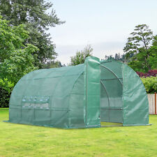 NEW Outdoor Green House Garden Walk in Polytunnel Greenhouse Strong Plants Veget