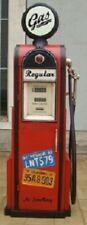 Tanksäule Zapfsäule Gasoline Höhe155cm Dekoration mit beleuchtetem Globe Nr.24
