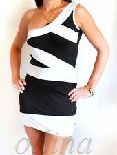 Nylon One Shoulder Plus Size Dresses for Women