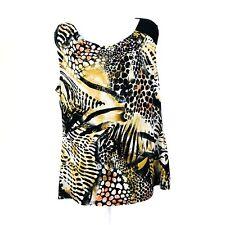 Laura Womens Top Shirt Blouse XL Sleeveless