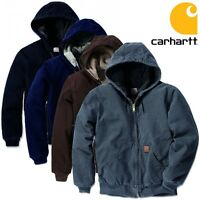Carhartt Herren Winterjacke Jacke Sherpa Lined Sandstone Active Men Jacket NEU