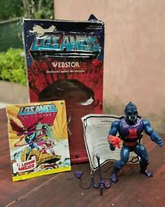 RARE MOTU WEBSTOR MEXICO LOS AMOS MEXICAN VARIANT AURIMAT WITH BIG HEAD IN OB
