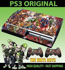 Placas frontales y etiquetas para Sony PlayStation 3 para consolas y videojuegos Consola