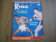THE RING - BOXING MAGAZINE - SEPTEMBER 1964 - FLOYD PATTERSON, CLEVELAND WILLIAM